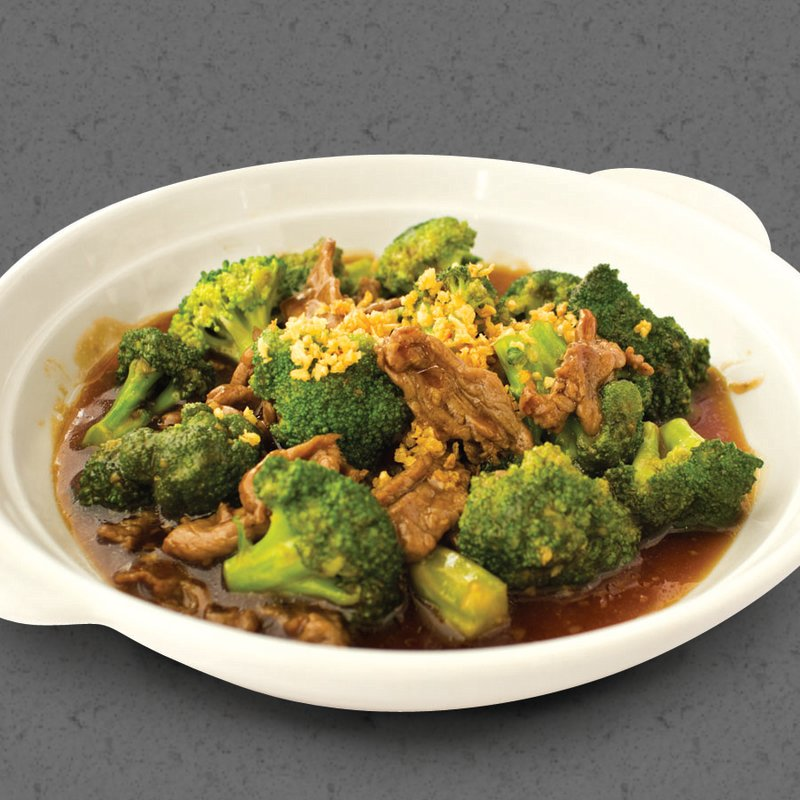 Red Platter Beef Broccoli