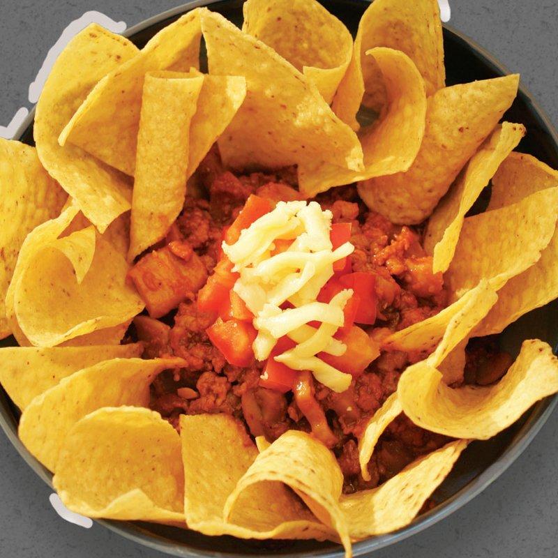 Red Platter Beef Nachos