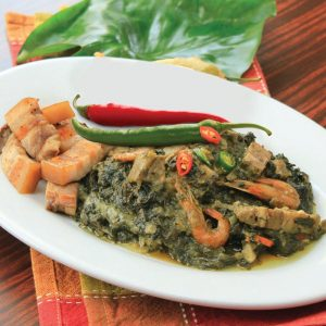 Red Platter Bicol Laing Special