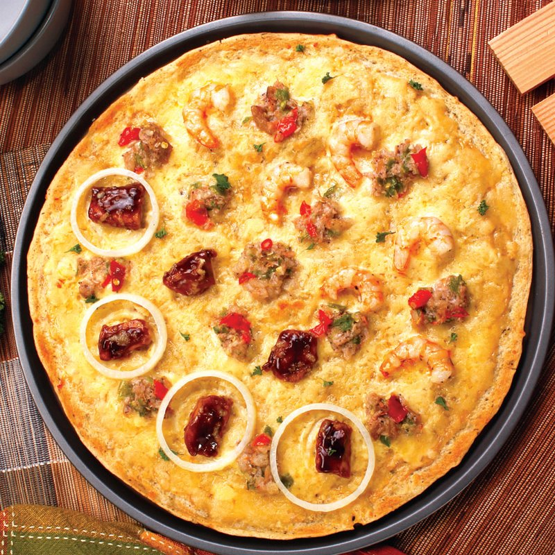 Red Platter Bicolano Pizza