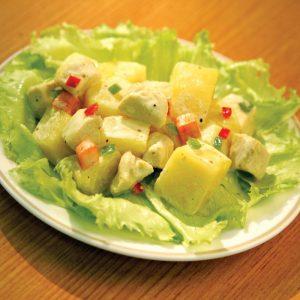 Red Platter Chicken Potato Salad
