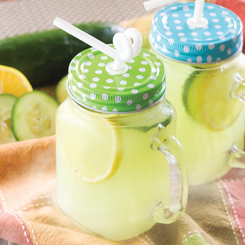 cucumber lemonade punch
