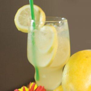 Red Platter Honey Lemonade