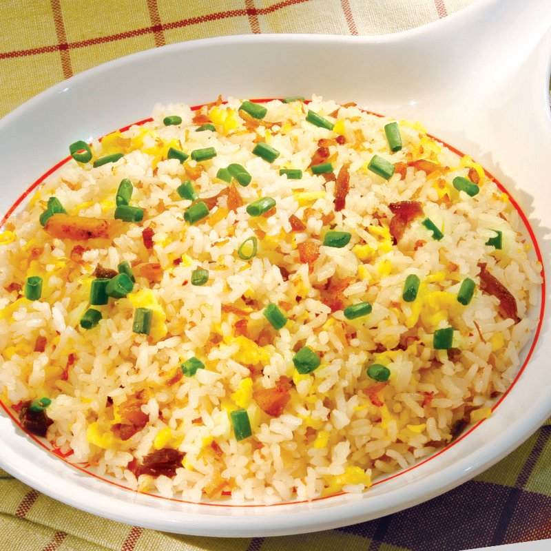 Red Platter Rice