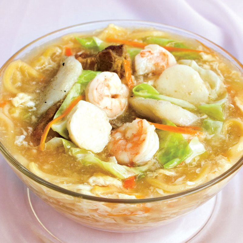 Red Platter Seafood Lomi