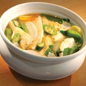 Red Platter Sinigang na Salmon Belly