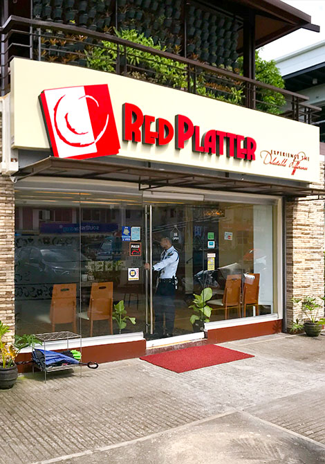 Red Platter Restaurant Accessible Location
