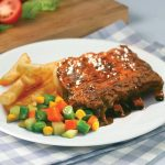Red Platter Baby Back Ribs