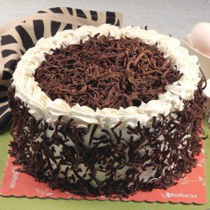 Red Platter Belgian Chocolate Cake