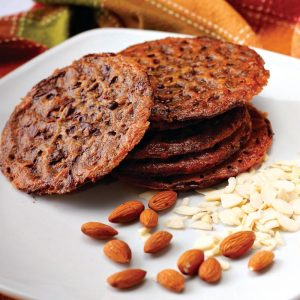 Red Platter Belgian Chocolate Cookies