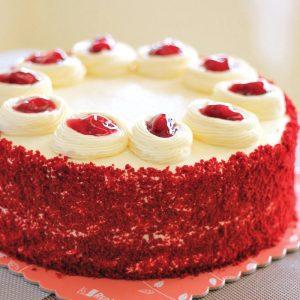 Red Platter Choco Velvet Cake