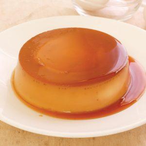 Red Platter Creamy Lache Flan