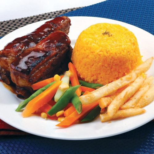 Red Platter Hickory Ribs