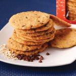Red Platter Oatmeal Cookies
