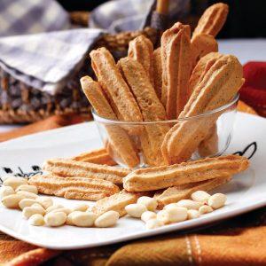 Red Platter Peanut Broas