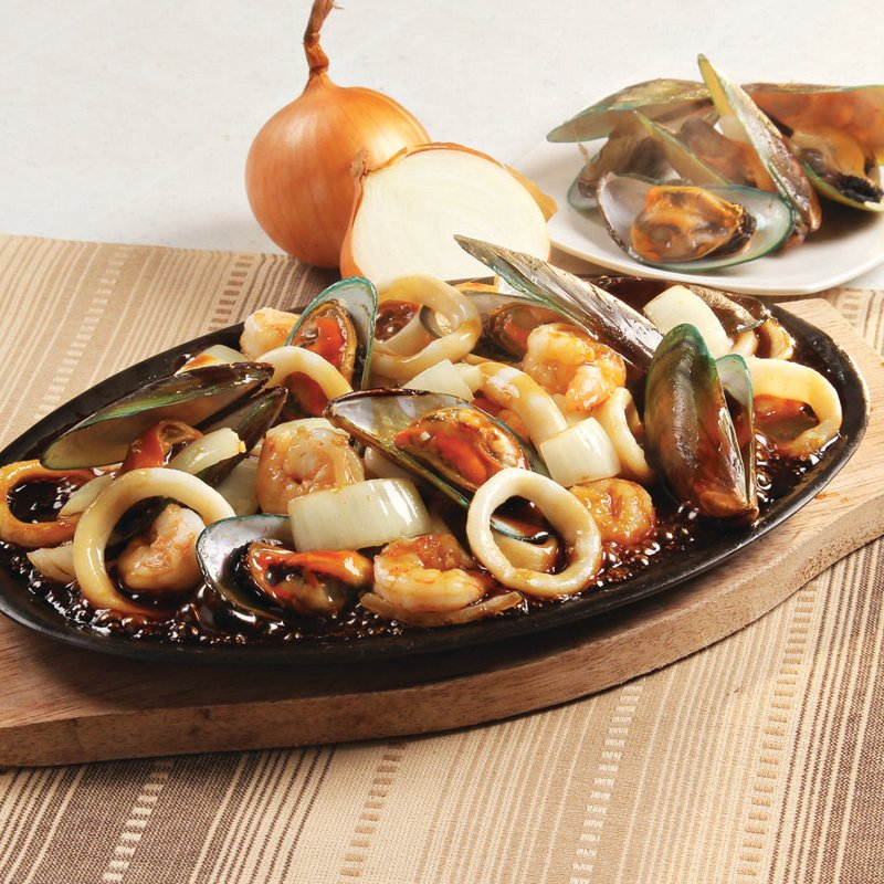Red Platter Sizzling Seafood Combo