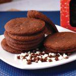 Red Platter Triple Chocolate Cookies
